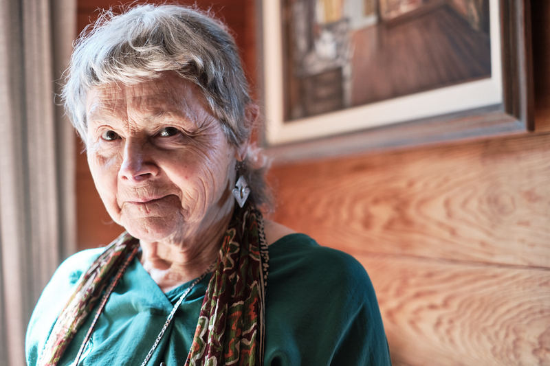 Katherine Pope, 91, COVID 19 vaccine recipient. March 20, 2021 Photo: Pete Rosos