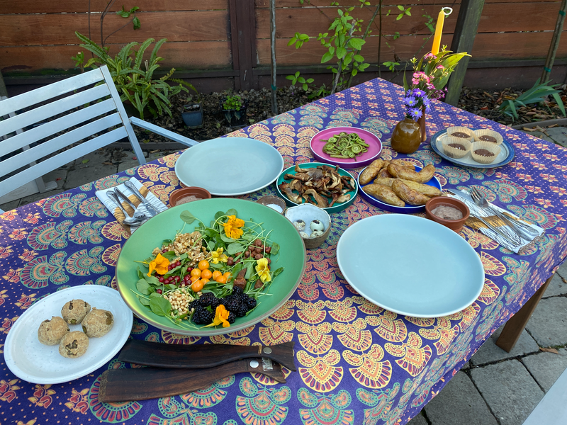 Sunday Supper table setting