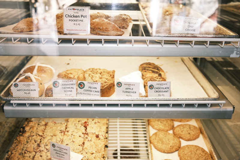 Baked goods at FatApple's in Berkeley. Photo: Pete Rosos