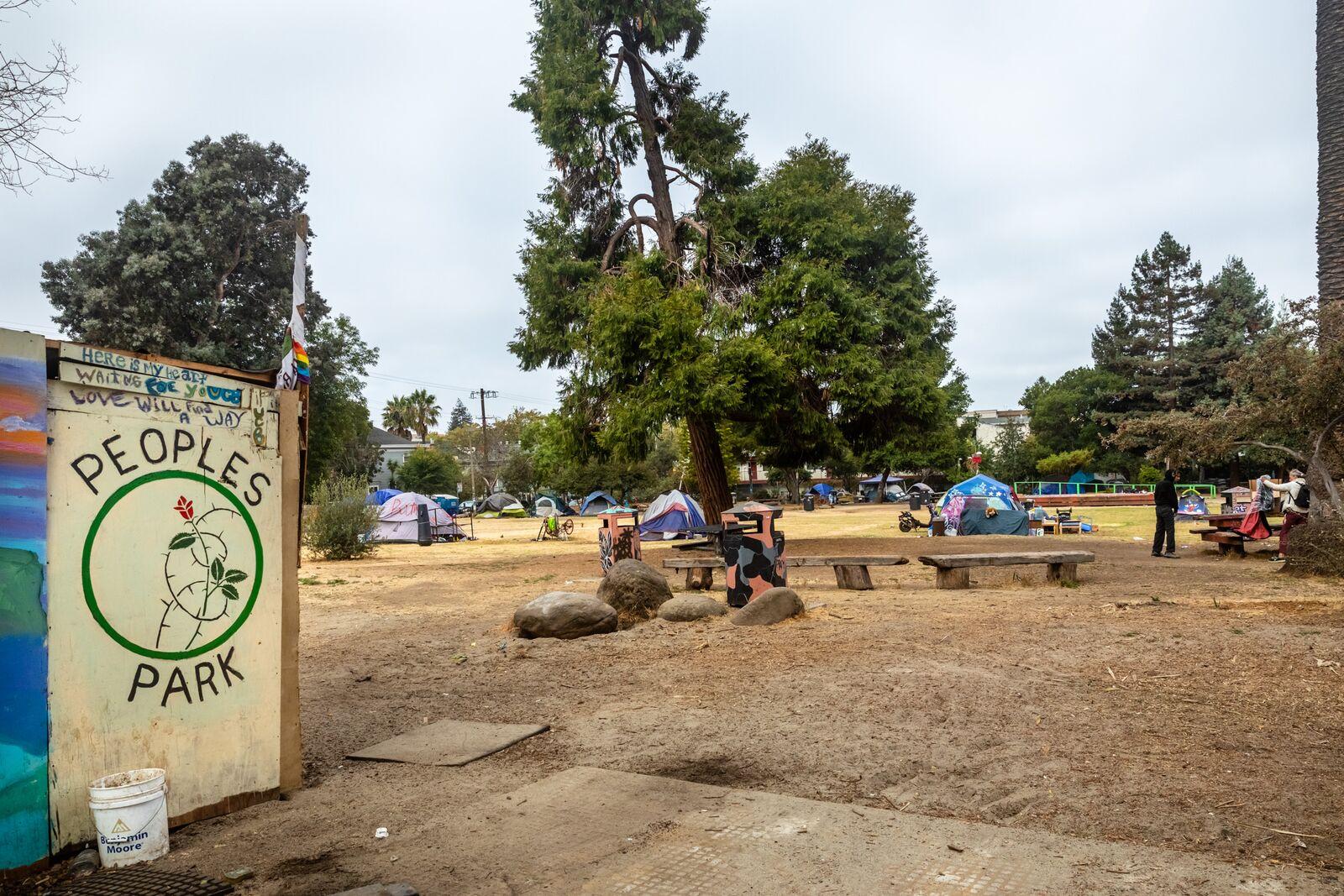 People's Park as seen on August 26, 2021. Credit: Kelly Sullivan