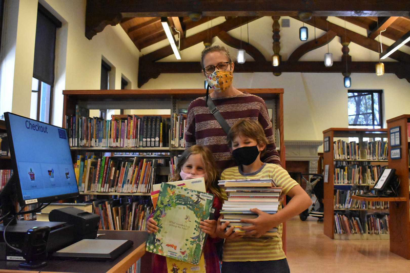North Berkeley Library reopens for in-person visits on May 28, 2021.