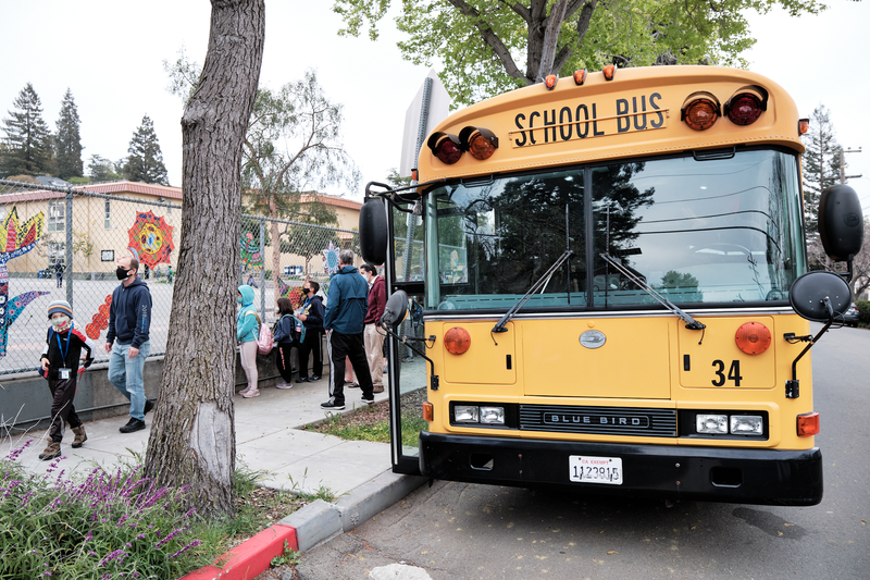 """We've waited for this a long time"": Berkeley students grades 3-8 go back to school in-person"