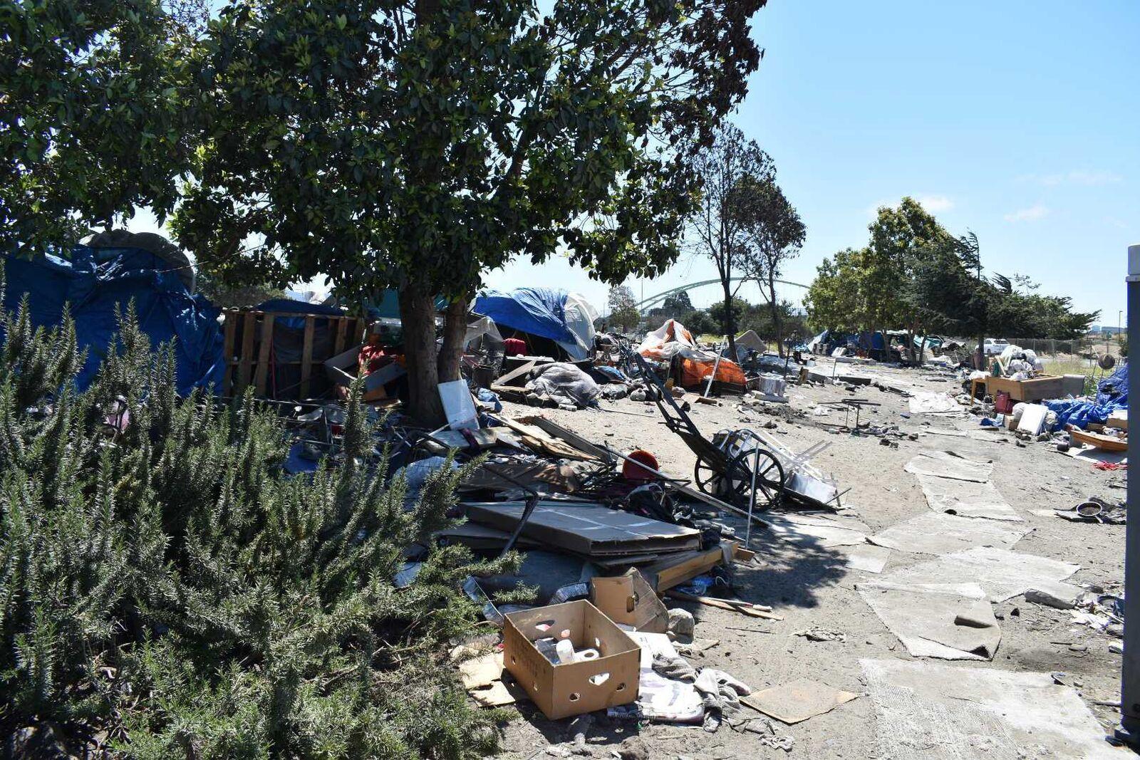 Frontage University Encampment