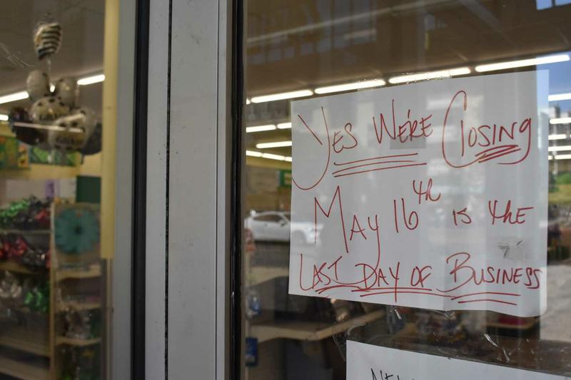 Dollar Tree Shattuck Closing May 16, 2021