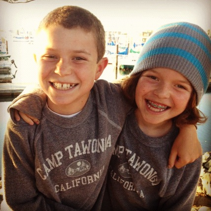 Eli (left) and Jesse Kane, as children.