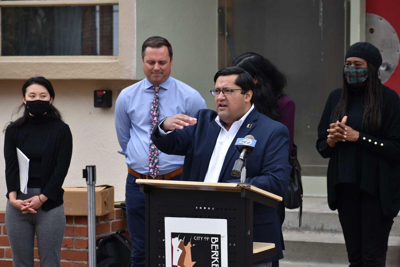 The West Berkeley Horizon shelter on Grayson Street opened July 1, 2021.