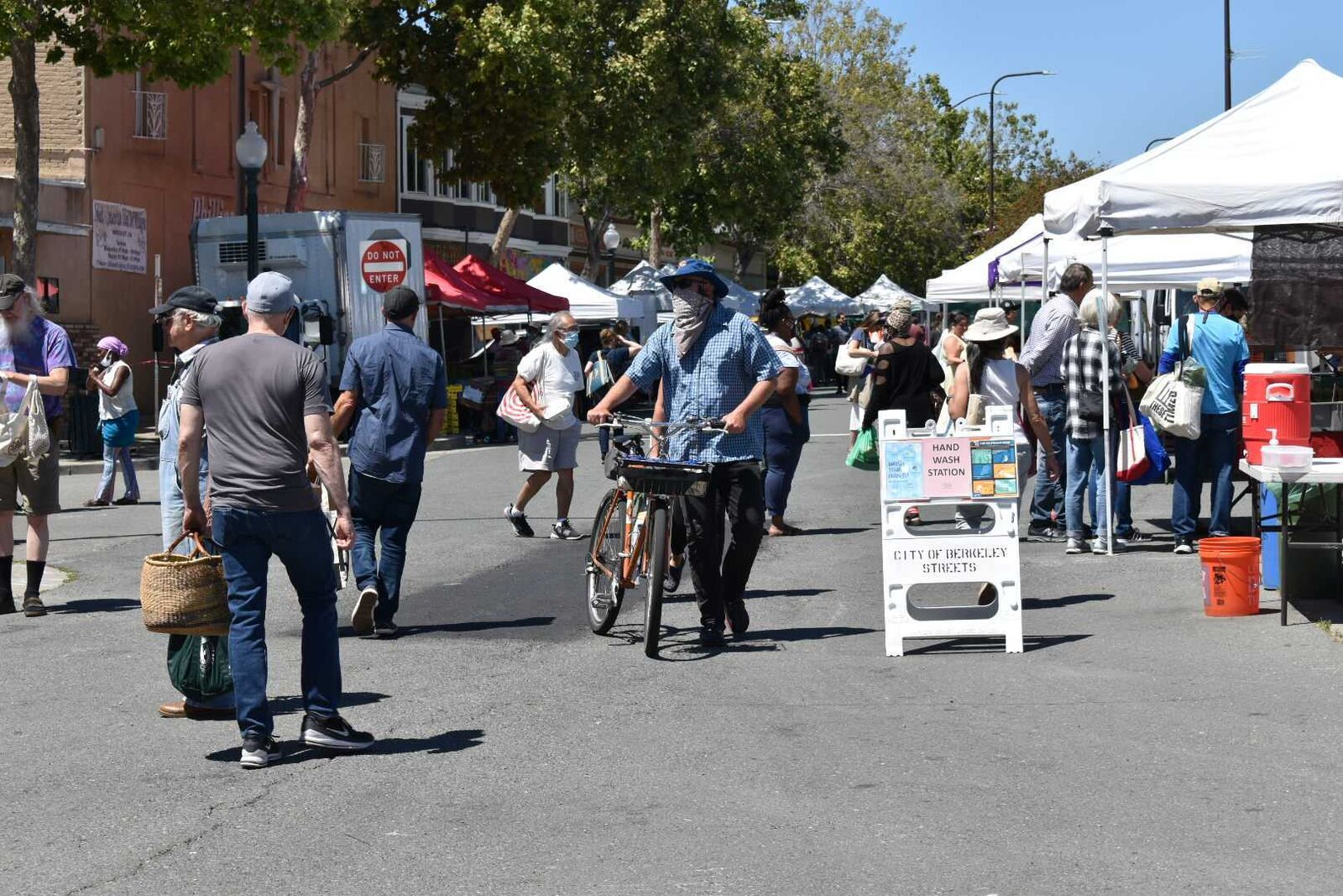 California Reopening in Berkeley