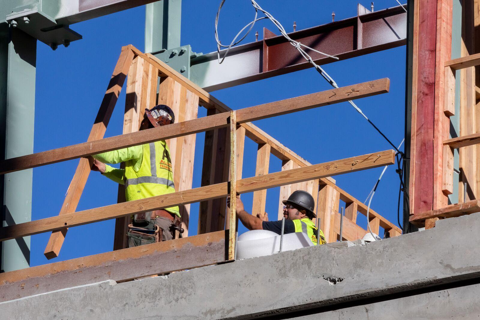 Downtown Berkeley construction as seen on October 1, 2021. Credit: Kelly Sullivan