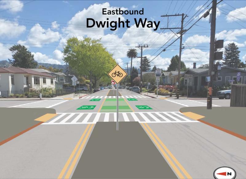 Dwight Way median
